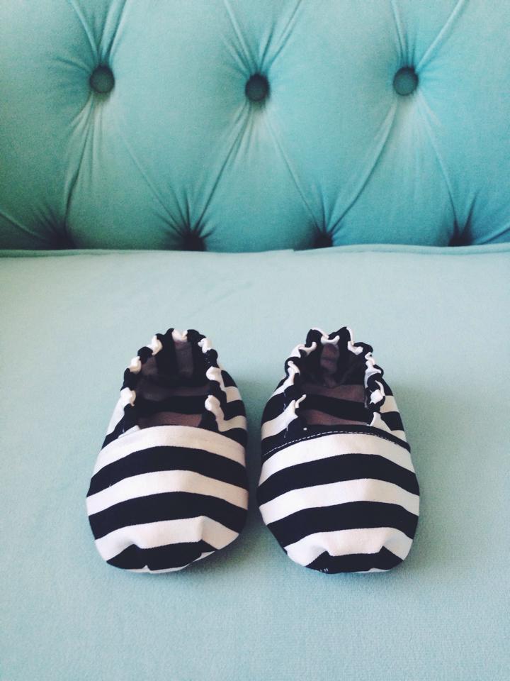 Baby Boy Shoes DIY Tutorial